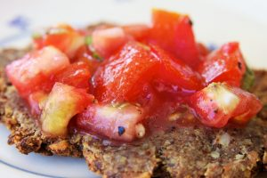 Bruschetta met tomaat-basilicum