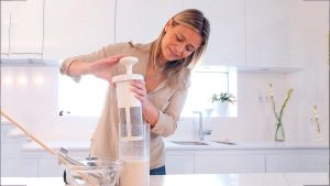 Chufamix plantaardige melk maken