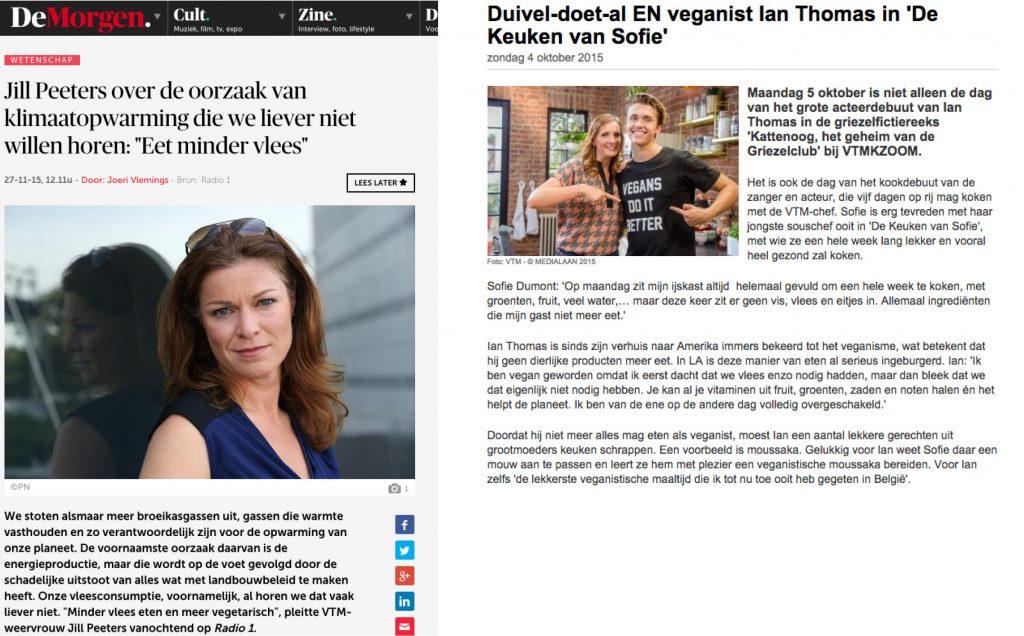 veganisme in de media