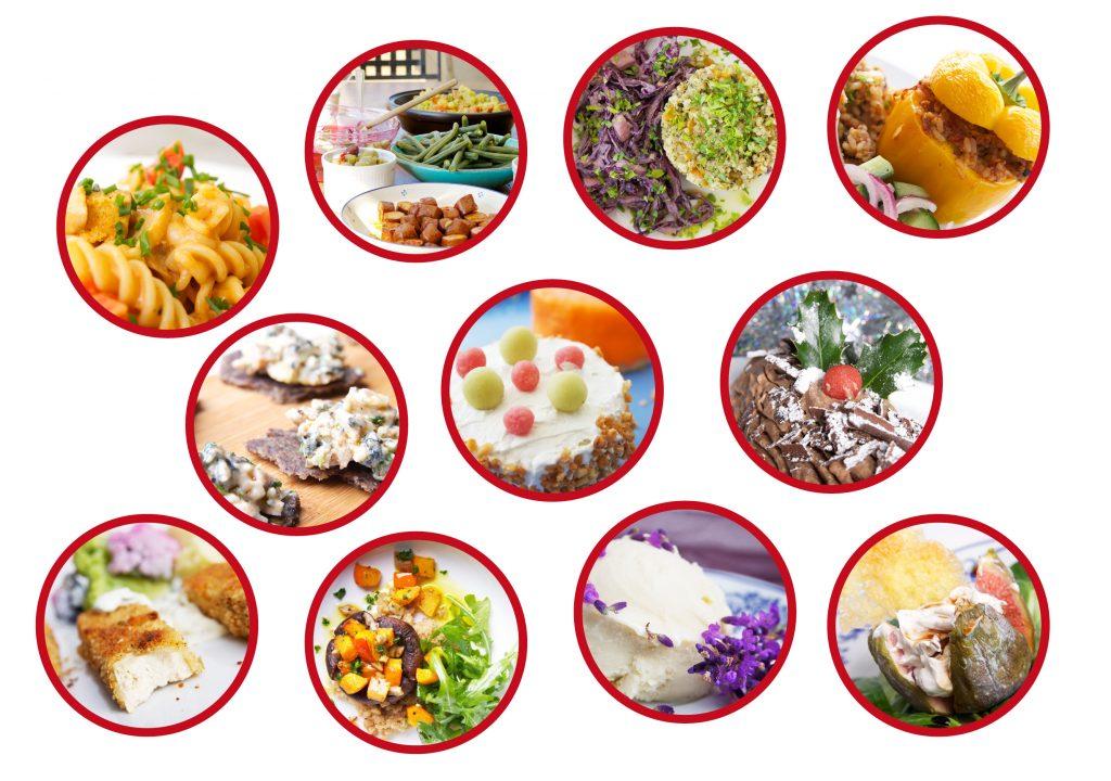 Vele mogelijkheden van de veganistische keuken