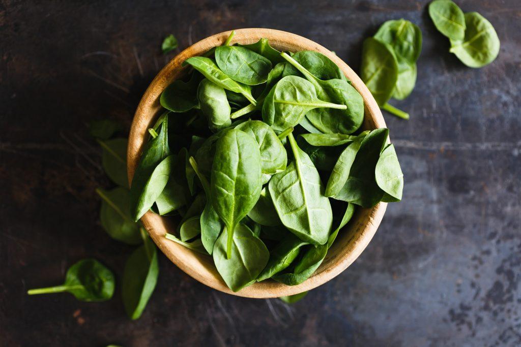 spinazie - plantaardige eiwitten