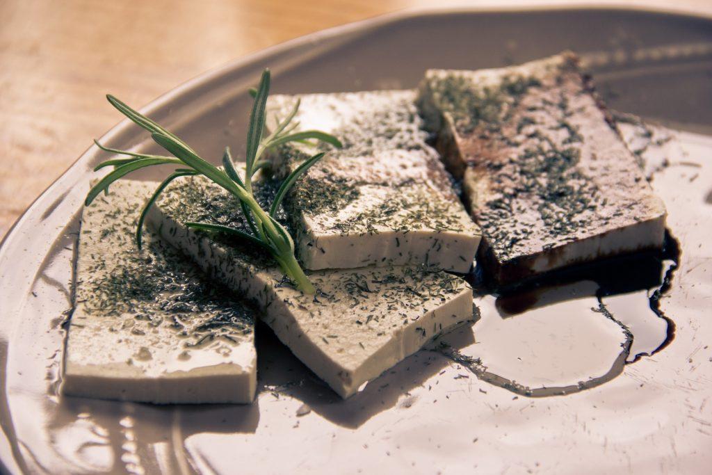 Tofu plantaardige proteïnebron