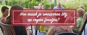vegan koken voor omnivore vrienden
