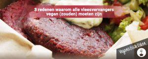 Redenen waarom vleesvervangers vegan zouden moeten zijn
