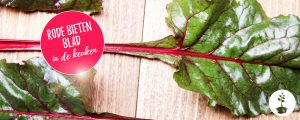 Rode bietenblad bereiden