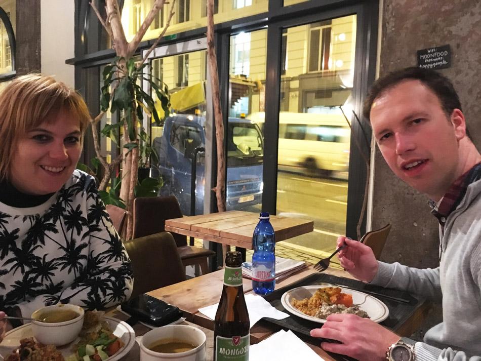 Moonfood Brussel - veganistisch restaurant