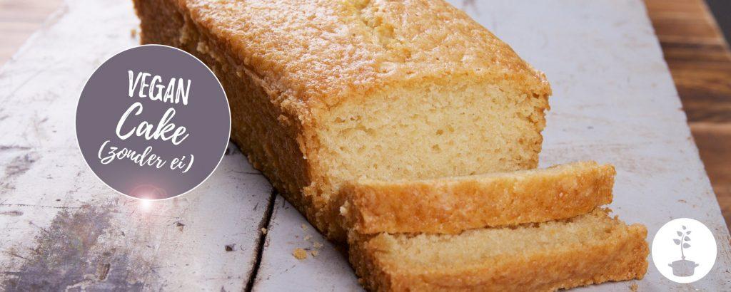 Vegan cake (met een vleugje vanille) - het recept