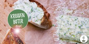Kruidenboter maken - vegan recept