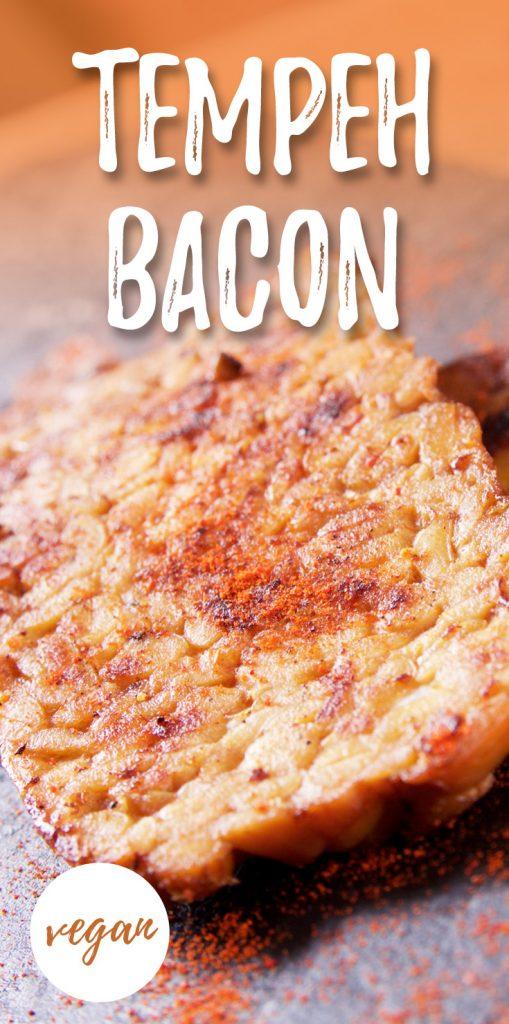 Tempeh bacon vegan