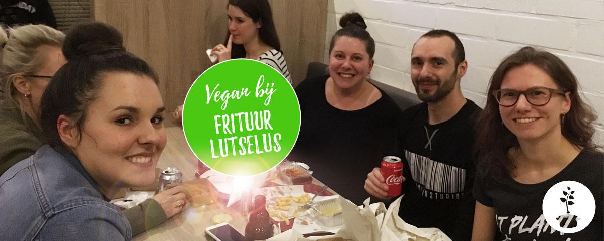 Vegan bij frituur Lutselus in Diepenbeek
