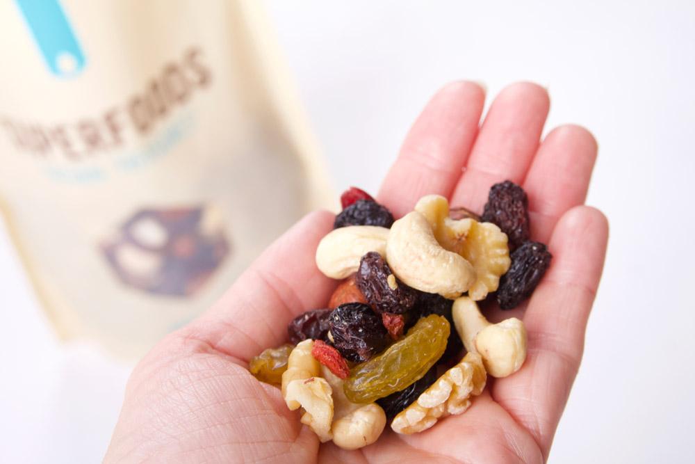 Superfood, noten- en zadenmix