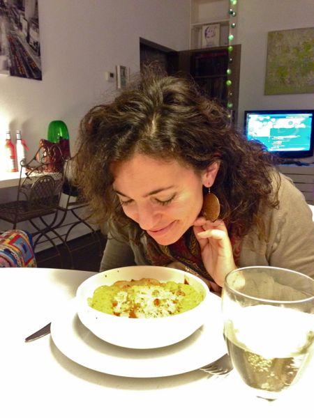 Wedstrijdwinnaar Vanessa Almeida proefde ervan en rook dat het goed was