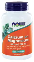 Calcium en magnesium tabletten vegan