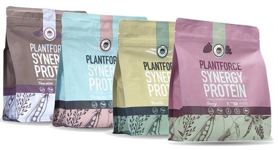 Plantforce synergy protein - plantaardig eiwitpoeder