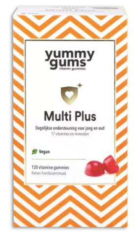Yummigums multi vitamine voor vegans