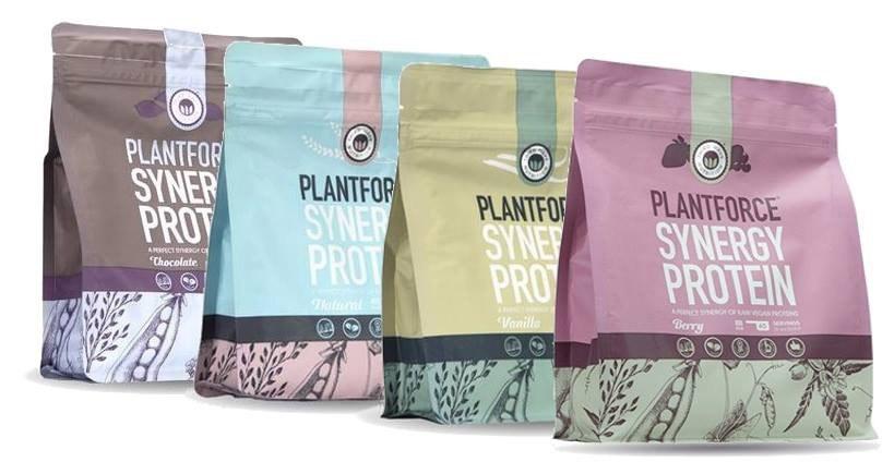 Plantforce synergie protein - vegan eiwitpoeder