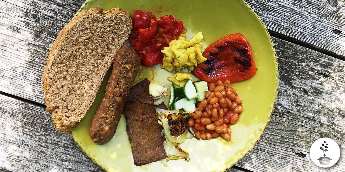 Engels ontbijt vegan recept