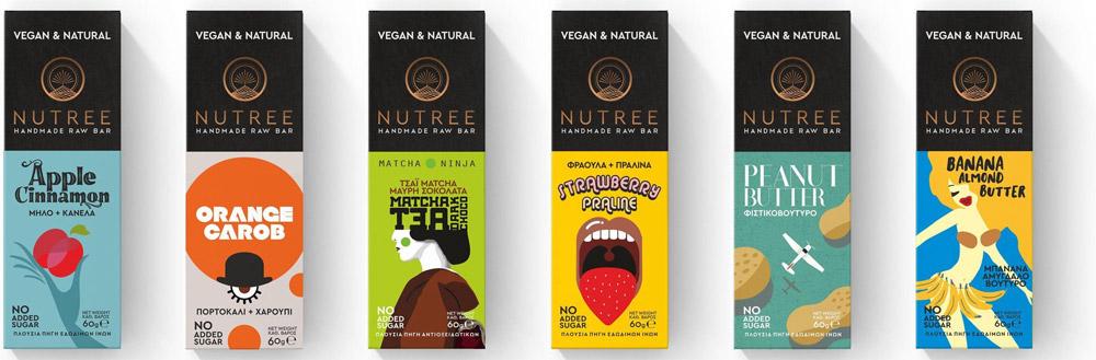 Nutree vegan en rawfood bars