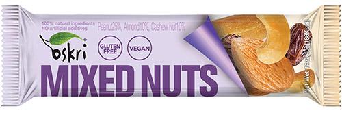 Oskri vegan en glutenvrije repen