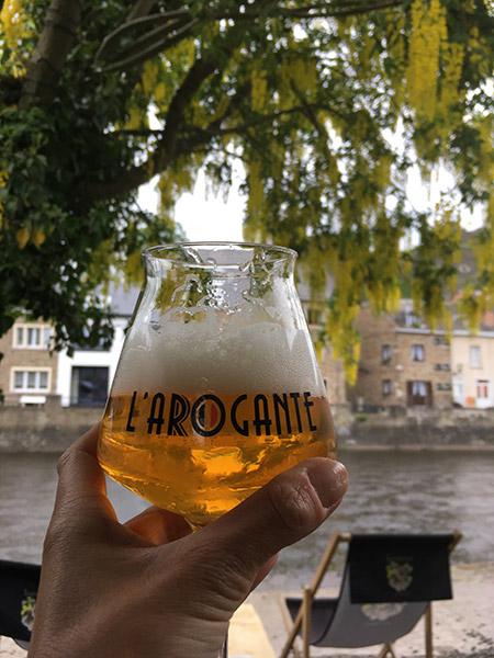 L'arogante bier uit La Roches