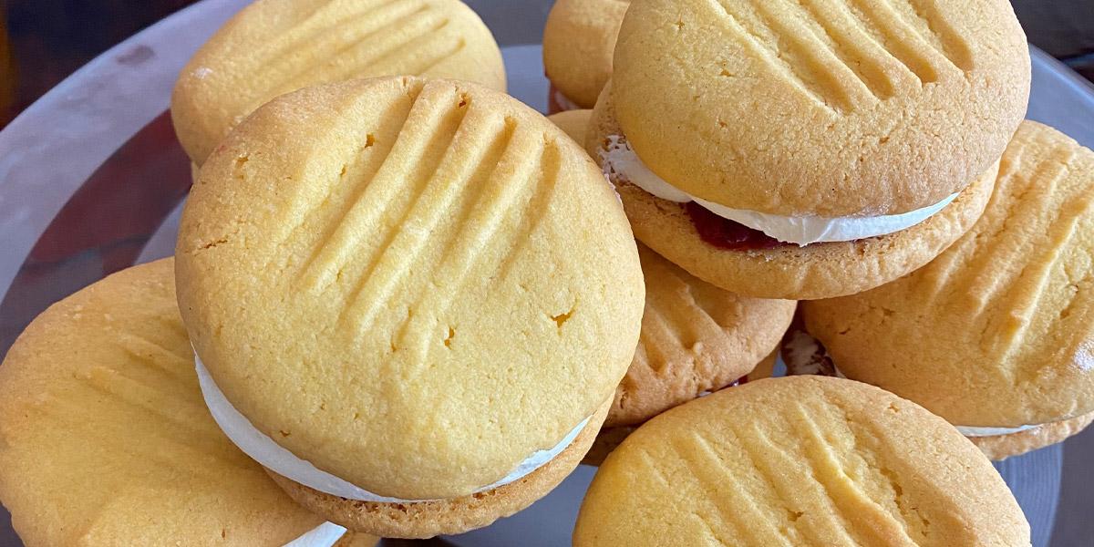 Melting moments cookies recept vegan