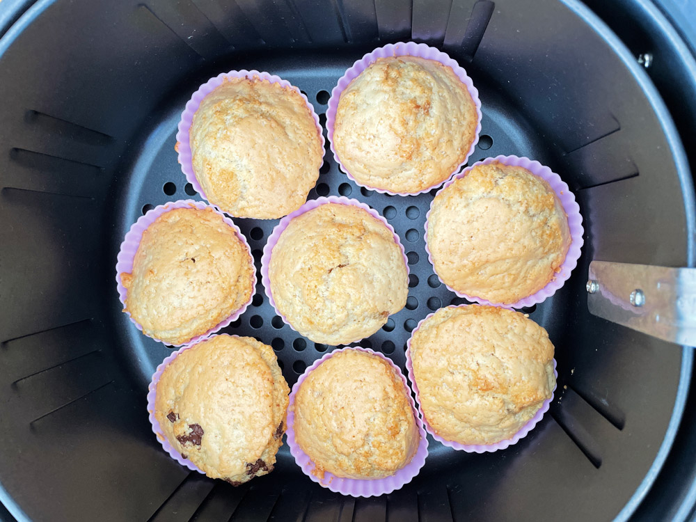 muffins in de airfryer