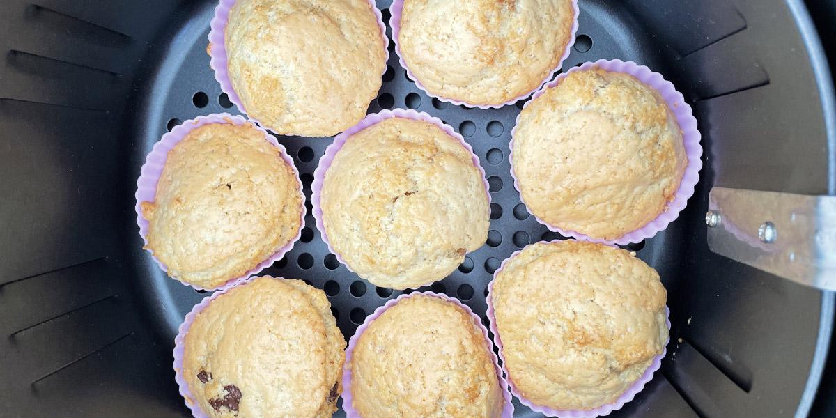 Muffins in de airfryer recept
