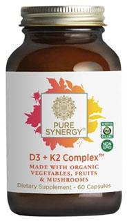 Pure Synergy D3 + K2 complex biologisch