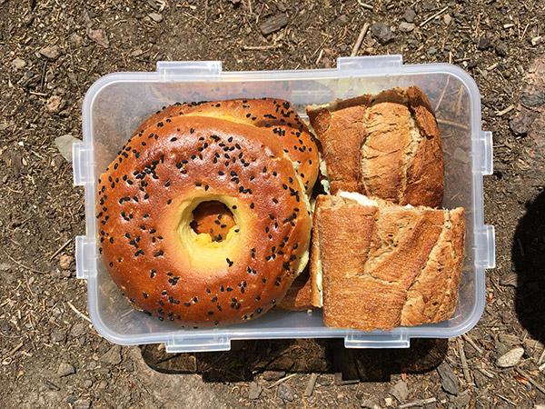 Broodjes voor tijdens de wandeling