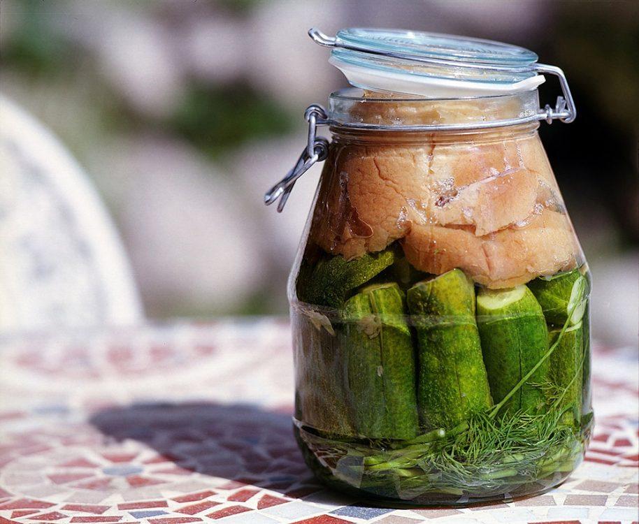 Pickles fermenteren