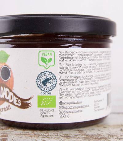 No Sugar daddies - vegan - Rainforest alliance certified - biologisch