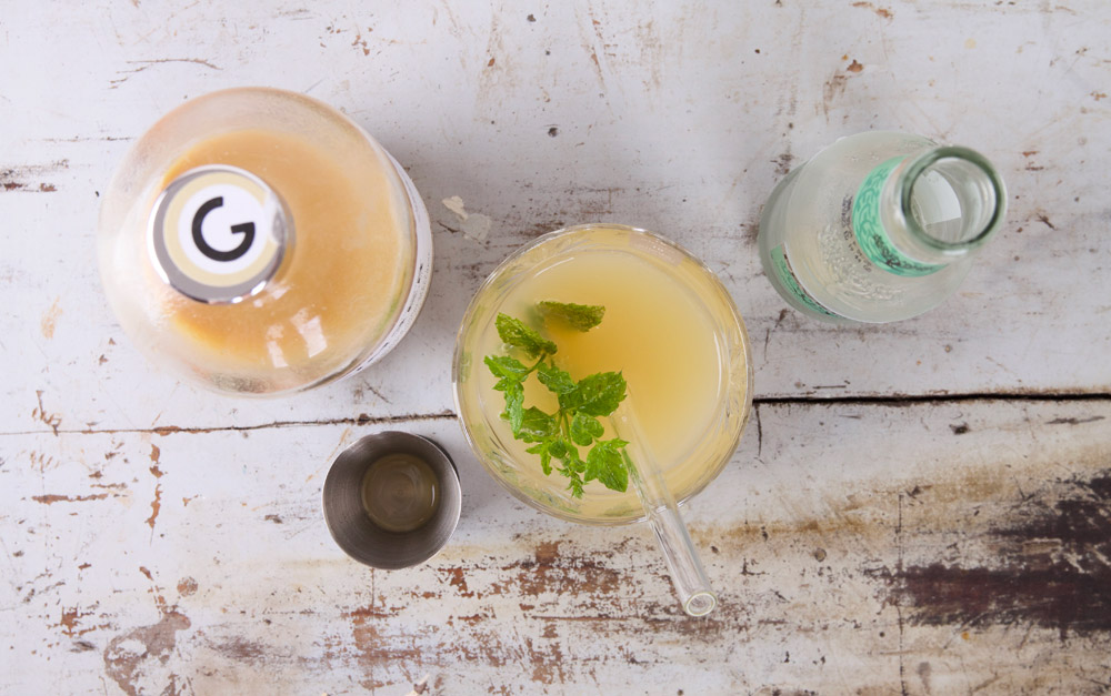 Gimber tonic - verfrissend zomers drankje als mocktail
