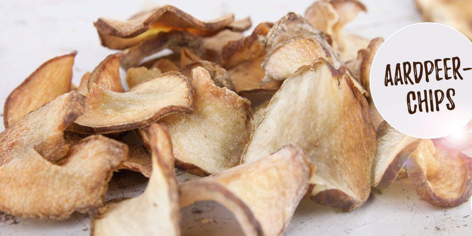 Aardpeer chips recept