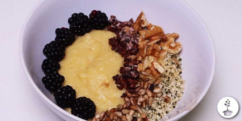 polenta pap ontbijt recept