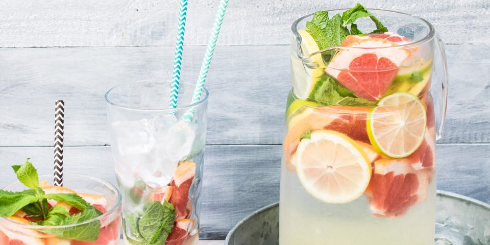 Verfrissende zomerse drankjes om te maken
