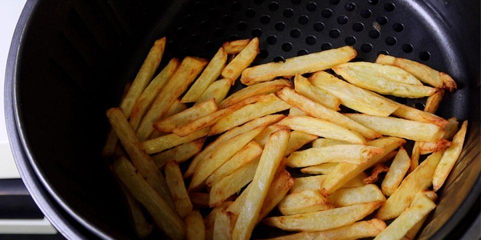 Verse frieten in de airfryer